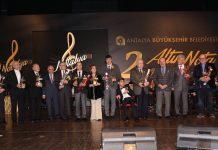 Antalya Büyükşehir Belediyesi 2. Altın Nota Türk Sanat Müziği Beste (Şarkı) Yarışması 2017'' Altinnota Toren 2017 2018 ALTIN NOTA'DA ÖDÜL GECESİ