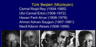 Türk Beşleri Kimdir. Müzik Hayatları, Eserleri, Besteleri, Klasik Türk Batı Müziği Duayenleri. Önemli Türk Besteci Ve Müzisyenleri. Türk Beşleri (Müzisyen)