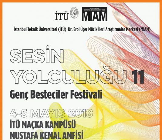 Genç Besteciler Festivali, Sesin Yolculuğu 12 En Son. Genç Besteciler Festivali, Sesin Yolculuğu 12 İTÜ MİAM Concert Konser Çağdaş Composer Composition Besteci Bestesi Eseri