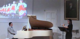 """Genç Besteci Güneş Yakartepe, KALİNKA ve SARI ZEYBEK """" Eserlerini Sentez-Kaynak Yaparak Piyano ve Flüt Düzenlemelerini Yaptı. KALİNKA-Rus Şarkısı ile SARI ZEYBEK-Türk Halk Müziği Eseri, Sentez Düzenlemesi, Piyano-Flüt Düeti"""