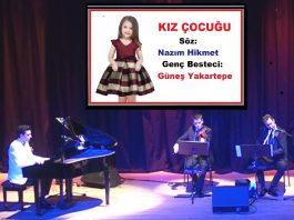 Kız Çocuğu - Hirişoma Söz Nazım Hikmet Beste, Genç Besteci Güneş Yakartepe, Bestekar Son Şarkılar, En Güzel Müzik Kompozitör Kompozisyon, En Yeni Şarkı Besteler Konseri, 2020 New Young Composer